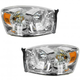 1ALHP00641-Dodge Headlight Pair