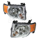1ALHP00643-2008-12 Ford Escape Headlight Pair