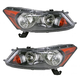 1ALHP00644-2008-12 Honda Accord Headlight Pair
