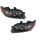 1ALHP00646-2006-08 Acura TSX Headlight Pair