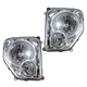 1ALHP00652-2008-12 Jeep Liberty Headlight Pair