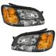 1ALHP00650-Subaru Baja Legacy Outback Headlight Pair