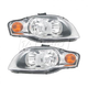 1ALHP00658-Audi A4 S4 Headlight Pair