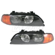 1ALHP00602-BMW 528i 540i Headlight Pair