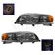 1ALHP00604-Volvo V70 XC70 Headlight Pair