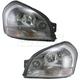 1ALHP00607-Hyundai Tucson Headlight Pair