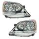 1ALHP00609-2008-10 Honda Odyssey Headlight Pair