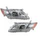 1ALHP00616-2007-09 Toyota Camry Headlight Pair