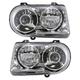1ALHP00612-2005-10 Chrysler 300 Headlight Pair