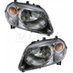 1ALHP00618-Chevy HHR Headlight Pair
