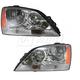 1ALHP00626-2005-06 Kia Sorento Headlight Pair
