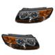 1ALHP00628-2007 Hyundai Santa Fe Headlight Pair