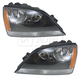 1ALHP00627-2005-06 Kia Sorento Headlight Pair
