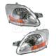1ALHP00622-Toyota Yaris Headlight Pair