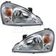 1ALHP00623-2002-07 Suzuki Aerio Headlight Pair