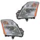 1ALHP00629-2007-09 Nissan Sentra Headlight Pair
