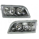 1ALHP00596-2000-02 Volvo S40 V40 Headlight Pair