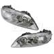 1ALHP00595-Mazda 6 Headlight Pair