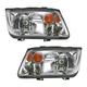 1ALHP00592-Volkswagen Jetta Headlight Pair