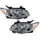 1ALHP00566-2004-06 Mazda MPV Headlight Pair