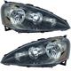 1ALHP00564-2005-06 Acura RSX Headlight Pair