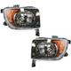 1ALHP00562-2007-08 Honda Element Headlight Pair
