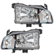 1ALHP00563-2006-08 Honda Ridgeline Headlight Pair