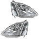 1ALHP00561-2002-03 Honda Civic Headlight Pair