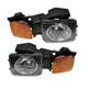 1ALHP00557-Hummer H3 H3T Headlight Pair