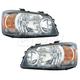 1ALHP00571-Toyota Highlander Headlight Pair
