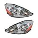 1ALHP00574-2006-10 Toyota Sienna Headlight Pair