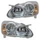 1ALHP00575-2005-08 Toyota Corolla Headlight Pair