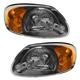 1ALHP00532-2003-06 Hyundai Accent Headlight Pair