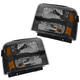 1ALHP00537-2005-07 Ford Headlight Pair