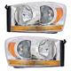 1ALHP00541-Dodge Headlight Pair