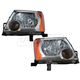 1ALHP00546-Nissan Xterra Headlight Pair