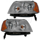 1ALHP00547-2005-07 Ford Freestyle Headlight Pair
