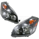 1ALHP00519-2004-09 Nissan Quest Headlight Pair