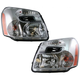1ALHP00523-2005-09 Chevy Equinox Headlight Pair