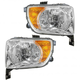 1ALHP00524-2003-06 Honda Element Headlight Pair