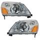 1ALHP00525-2003-05 Honda Pilot Headlight Pair
