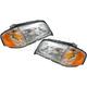 1ALHP00500-Mercedes Benz Headlight Pair