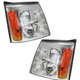 1ALHP00503-2003-06 Cadillac Headlight Pair