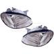 1ALHP00496-1999-01 Hyundai Sonata Headlight Pair
