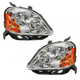 1ALHP00487-2005-07 Ford Five Hundred Headlight Pair