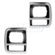 1ALHP00471-1992-96 Chevy Van G-Series GMC Van Headlight Bezel Pair