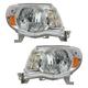 1ALHP00461-2005-11 Toyota Tacoma Headlight Pair