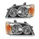 1ALHP00458-2001-03 Toyota Highlander Headlight Pair