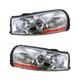 1ALHP00454-2003-04 Saturn L Sedan L Wagon Headlight Pair