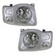 1ALHP00446-2002-04 Nissan Xterra Headlight Pair